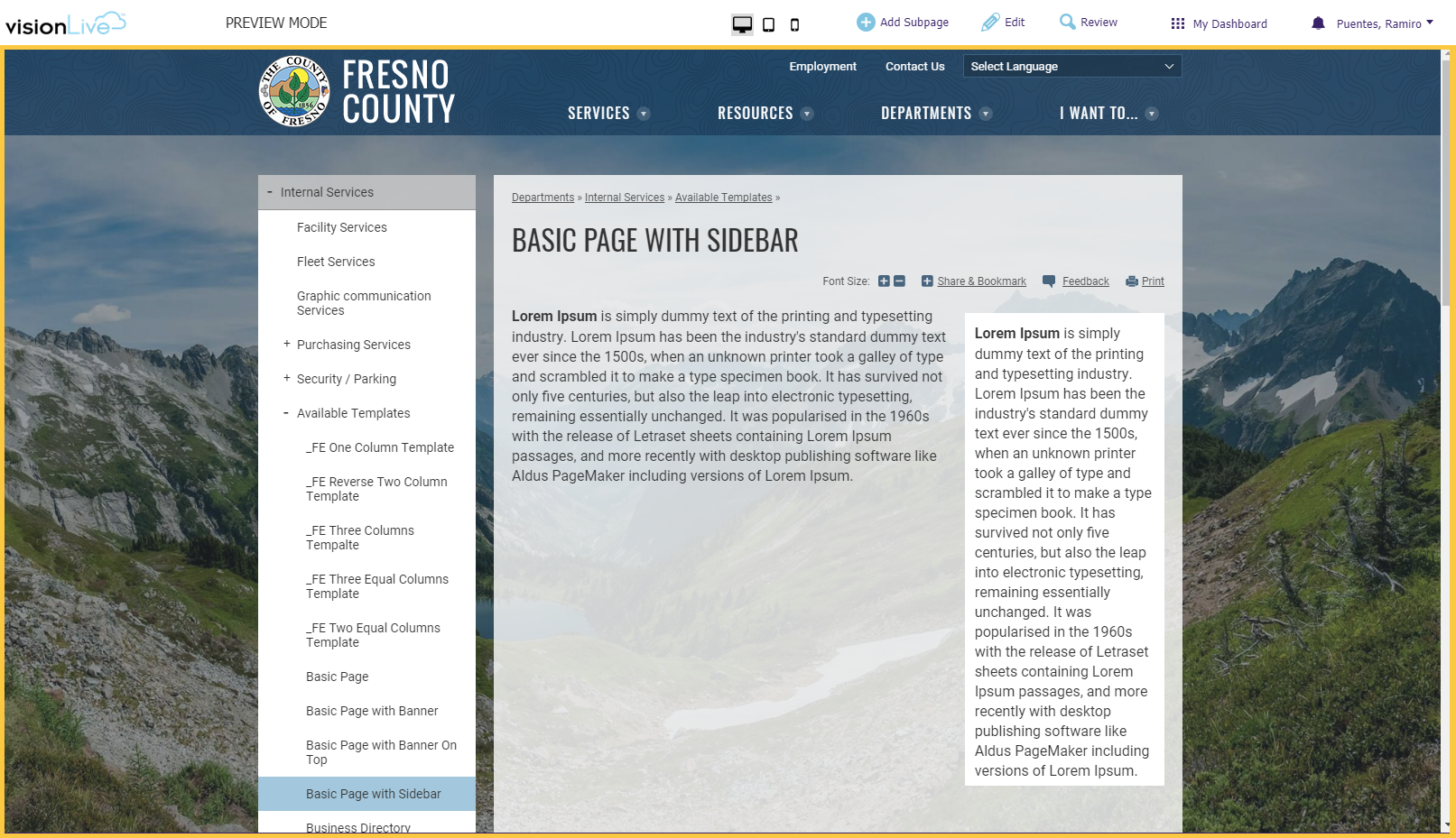 Template album page with banner and content boxes county of fresno basic page with sidebar 1betcityfo Choice Image