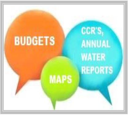 Budgets, CCR's and Annual Reports
