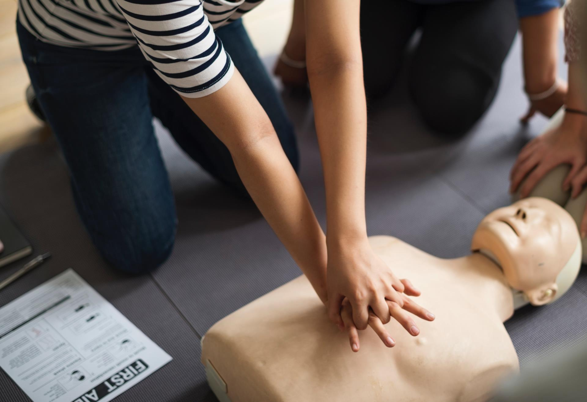 CPR, First Aid, Training