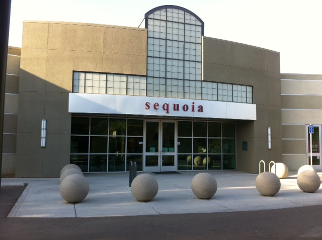 Sequoia Bldg front entrance