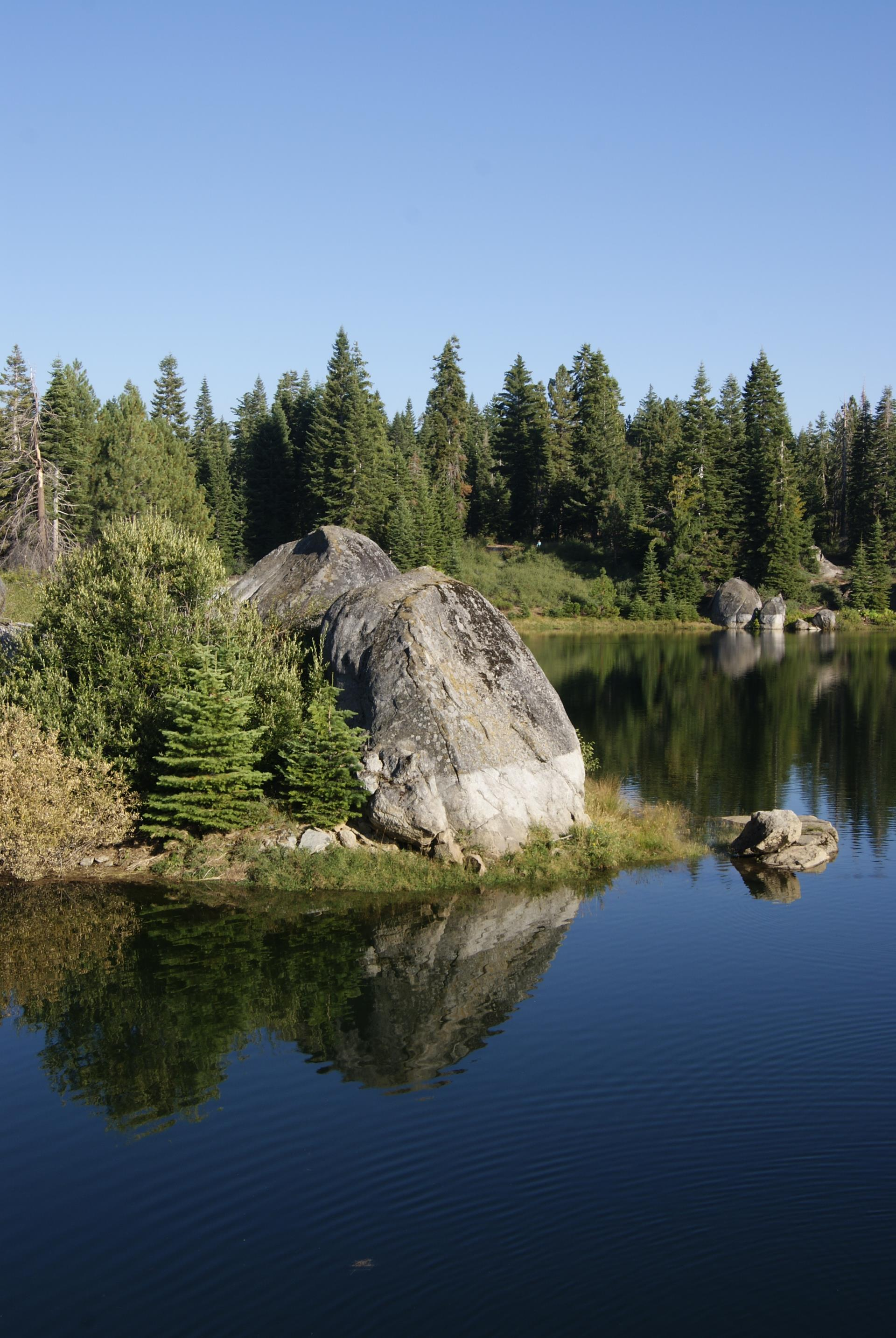 Reservoir near Shaver Lake - Photo by David Tijerina